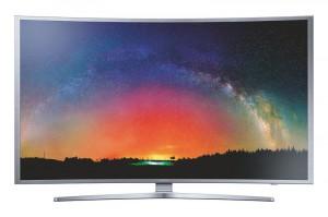 Samsung UE40S9: Kompakter UHD-TV im Curved-Design