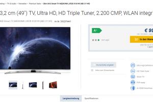 Neue Smart-TVs von Medion