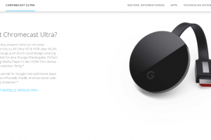 Neuer 4K HDR-Media-Player mit Ambitionen: Googles Chromecast Ultra