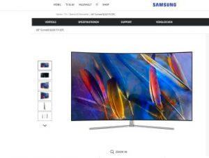 Samsung: Neue Spitzen-TVs QLED