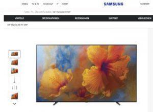 OLED versus QLED-Bildschirm: LG und Samsung im Vergleich