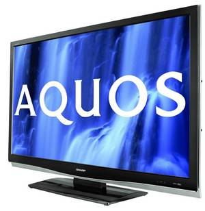 full hd in 46 zoll sharp aquos lc 46 x20e lcd fernseher. Black Bedroom Furniture Sets. Home Design Ideas