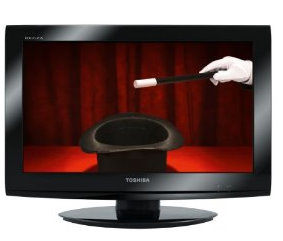 zweit tv toshiba 22av703g hd ready lcd fernseher lcd fernseher vergleich. Black Bedroom Furniture Sets. Home Design Ideas