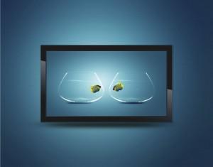 Flachbildschirm