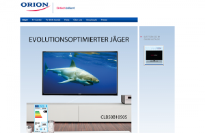 Orion-Homepage