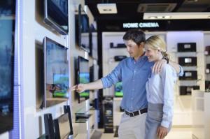 Die Qual der Wahl im Elektronikgeschäft