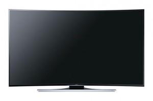 Samsung stellt neue gewölbte UHD TVs vor